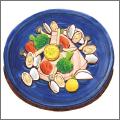 メカジキとアサリの野菜蒸し