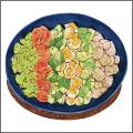 夏野菜のコブサラダ